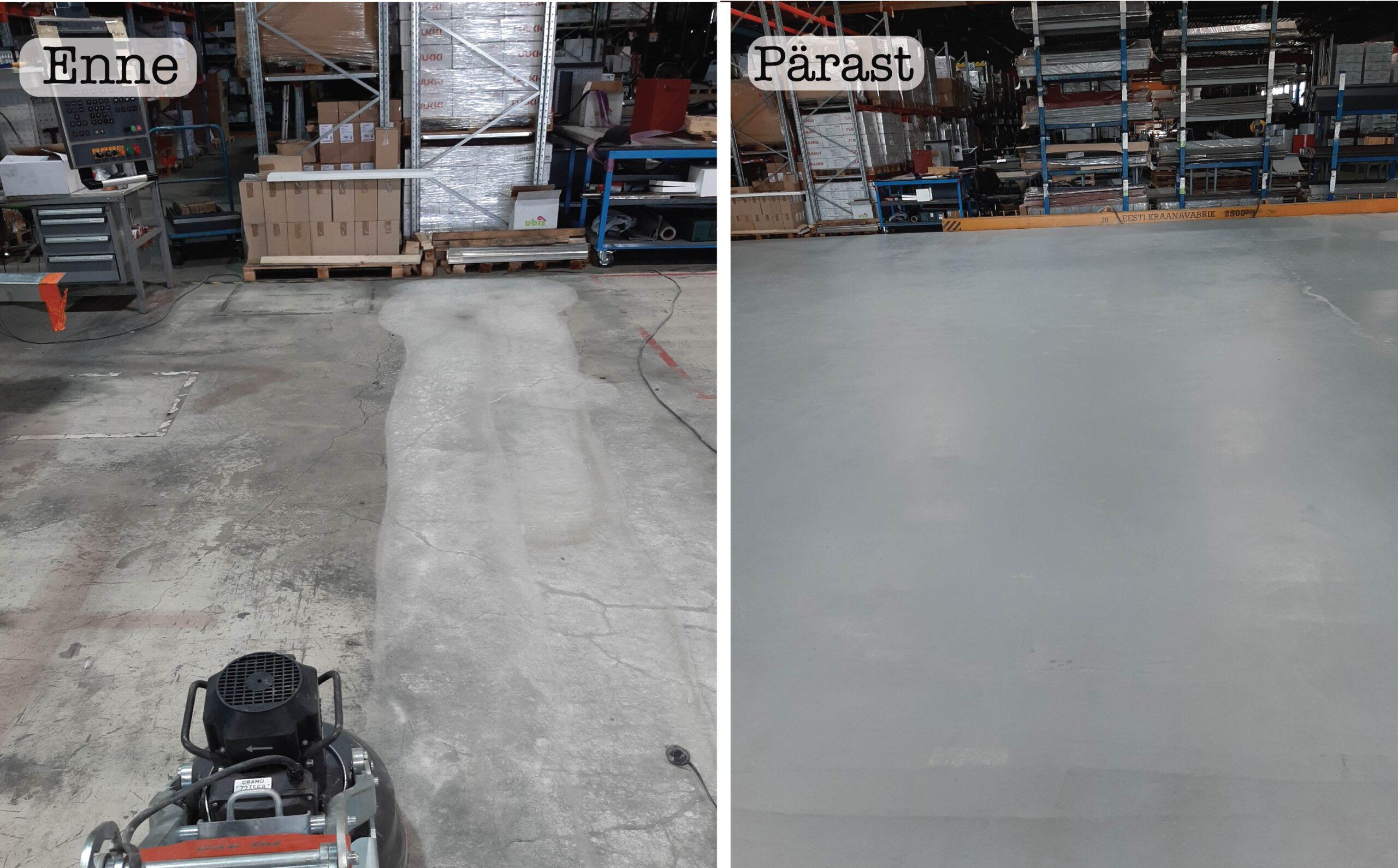 Ruukki tehas enne ja pärast